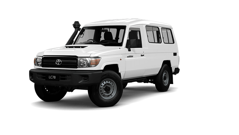LandCruiser 70 series Troop Carrier Workmate